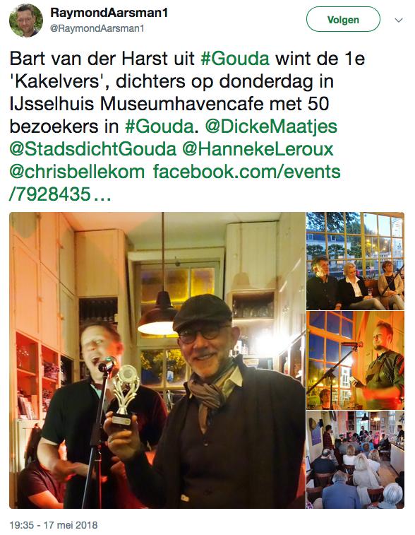 Kakelvers Award  (Dichters op Donderdag)